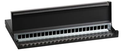 BOITIER DE CONSOLIDATION 24 EMBASES RJ45 - 490X245X40MM