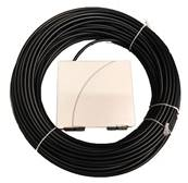 Câble abonné FTTH Double Gaine 70M- 1 SCA/G657+ PTO Rectangle