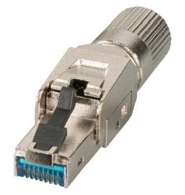CONNECTEUR INFRALAN RJ45 CAT.6A, 500 MHz, 10 Gbit